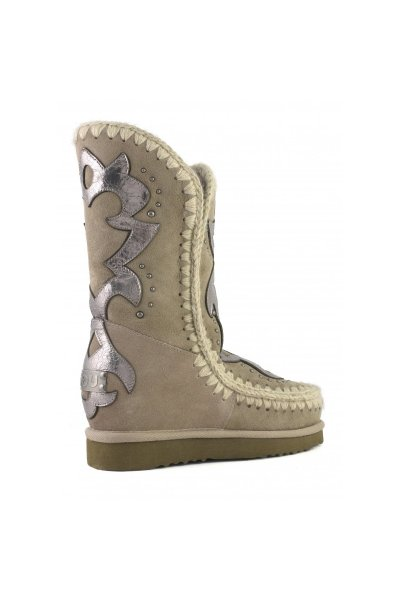Bota MOU Inner Wedge Tall Texan Patch Elephant Grey MU.FW121008A ELGRY