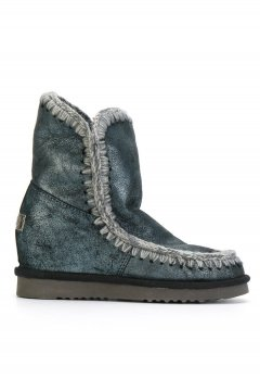 Bota MOU Inner Wedge Short Dust Blue Satinada MU.INTERSKIMOSHO DUBLU