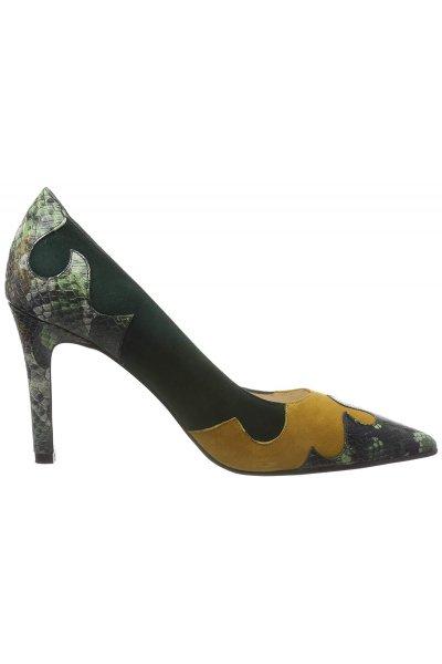 Zapato LODI Combi Verde Y Camel ROL MILI-ABETO