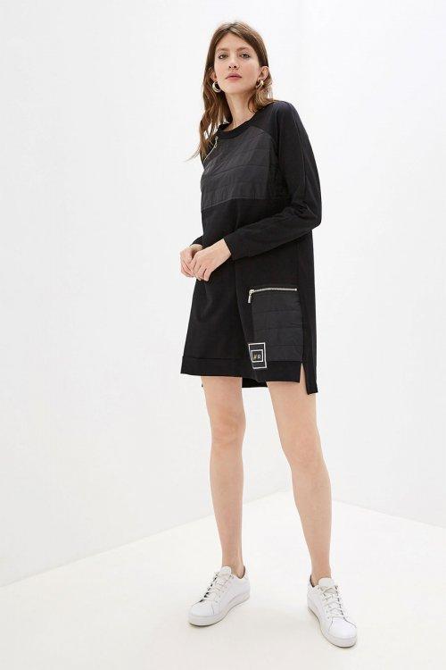 Vestido RINASCIMENTO Negro Felpa Combinado CFC0094437003