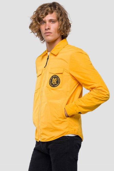Cazadora REPLAY Técnica Logo Amarilla M8968B 83110