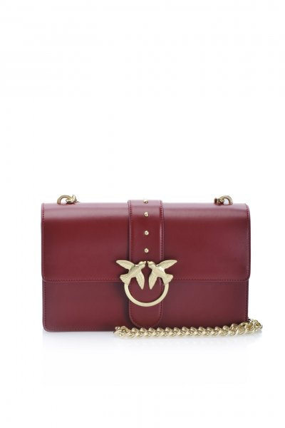 Bolso PINKO Love Bag Simply Burdeos 1P21ECY5FFR