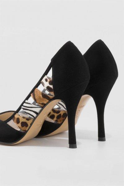 Zapato LODI Detalles Transparencias Y Animal Print RAY-INO