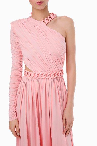 Vestido ELISABETTA FRANCHI Largo Cadenas AB11598E2