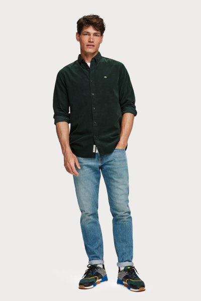 Camisa SCOTCH&SODA De Pana Regular Fit 152155