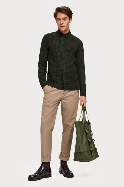 Camisa SCOTCH&SODA De Algodón Cepillado Regular Fit 152163