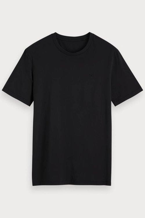 Camiseta SCOTCH & SODA Básica De Algodón 153657