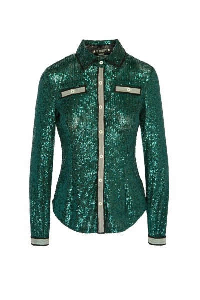 Camisa HIGHLY PREPPY Paillettes 9698