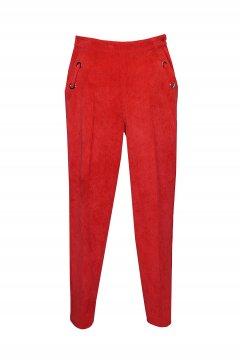 Pantalón ARGGIDO Rojo De Pana 43085