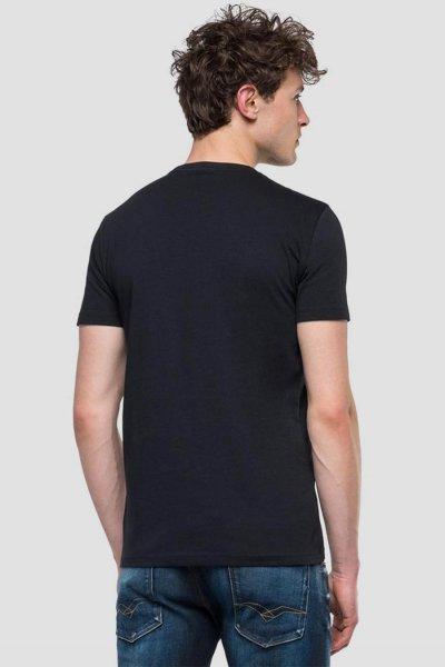Camiseta REPLAY Con Estampado De Calavera M3856 2660