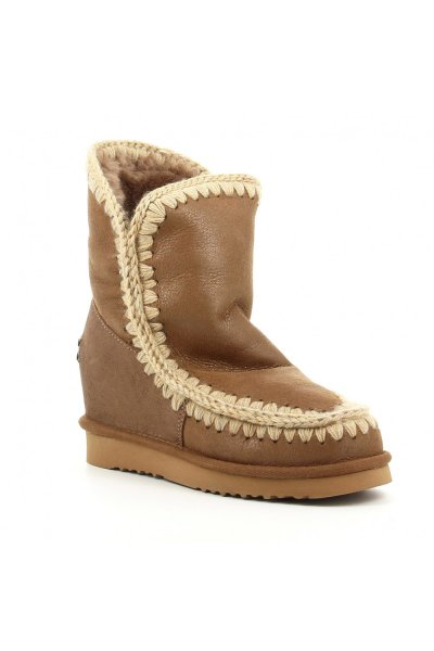 Bota MOU Inner Wedge Short Dust Pink Brown MU.INTERSKIMOSHO DUPKBR