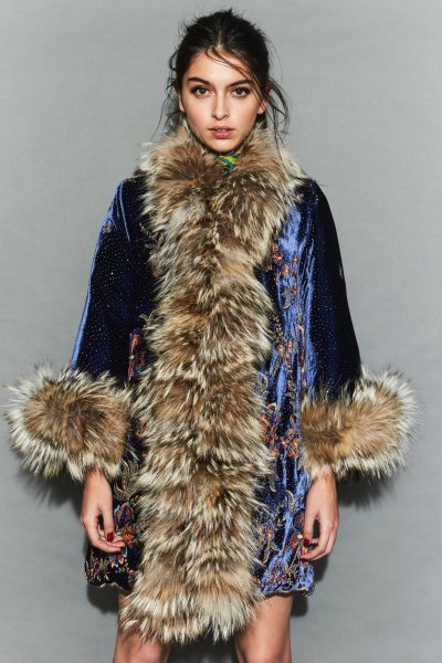Abrigo TETE BY ODETTE Midnight FW13
