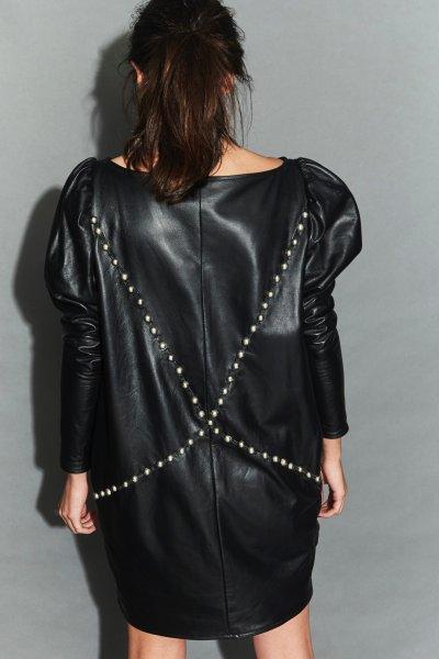 Vestido TETE BY ODETTE Baggy de Cuero FW46