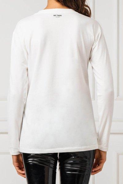 Camiseta TWINSET Blanca Logo Bordado 192MT2389