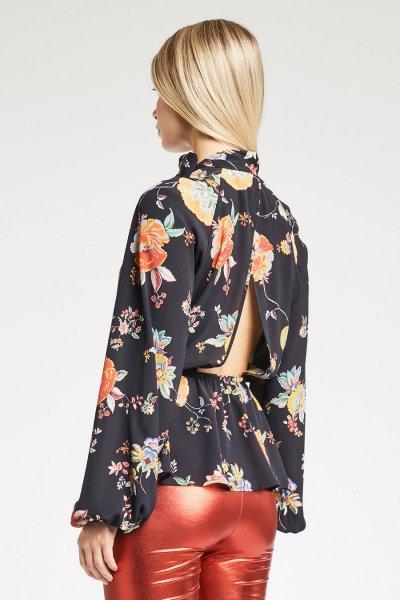 Blusa DENNY ROSE Peplum Floral 921DD40001