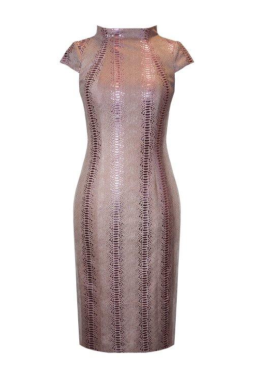 Vestido ARGGIDO Animal Print Satinado 43137