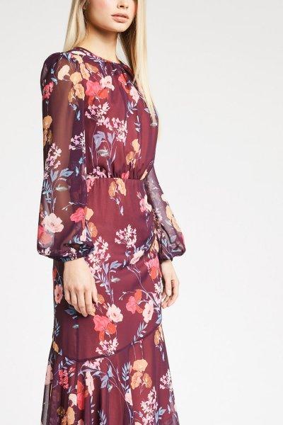 Vestido DENNY ROSE Asimétrico Floral 921DD10011