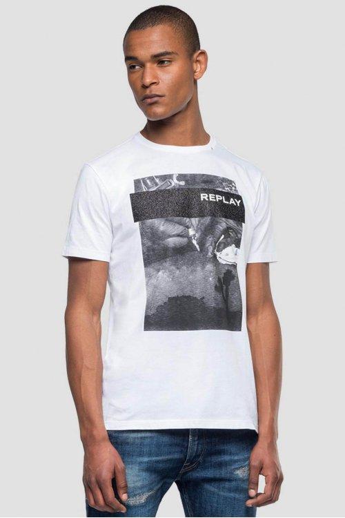 Camiseta REPLAY Con Estampado Tattoo M3858 2660