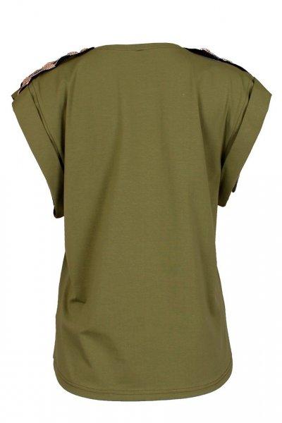 Camiseta SAHOCO Verde Galones  SH1903439A