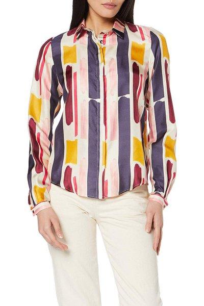 Camisa DOLORES PROMESAS Seda Estampada 107718