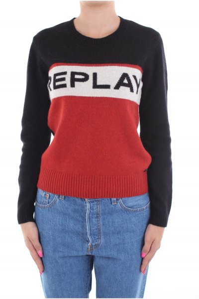 Jersey REPLAY Logo Color Block DK6006 G22568
