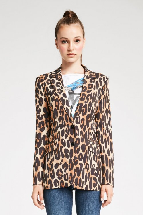Blazer DENNY ROSE Animal Print 921DD30005
