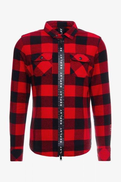 Camisa REPLAY De Cuadros M4015 52132