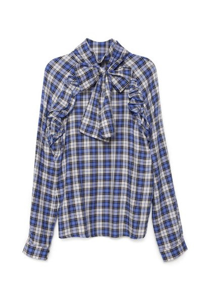 Camisa GUTS & LOVE Plaid Azul C-19-4-001