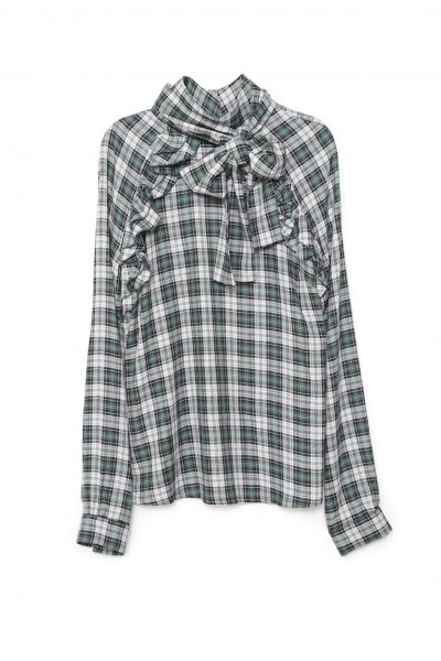 Camisa GUTS & LOVE Plaid Verde C-19-4-001