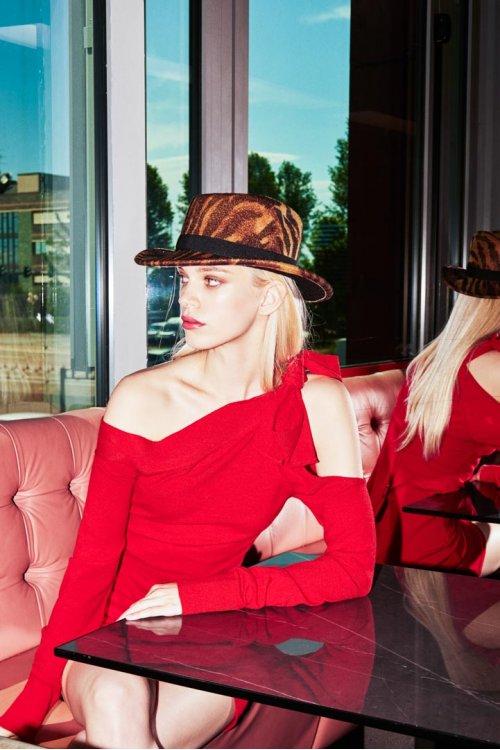 Sombrero DENNY ROSE Estampado Cebra 921DD90005