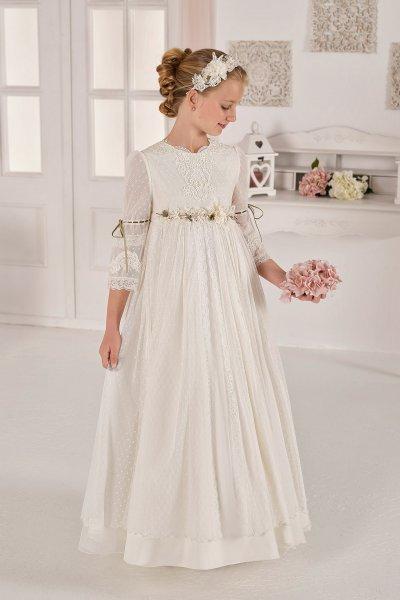 Vestido AIRE COMUNION Vintage 40113 A263