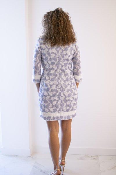 Vestido CONCEPTO PRIVE Recto Estampado 26.015-25-50