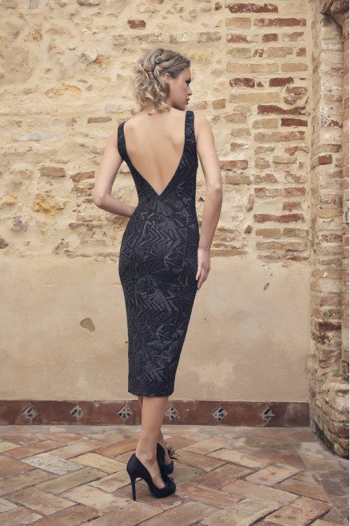 Vestido NURIBEL Pedrería Negro 1493100