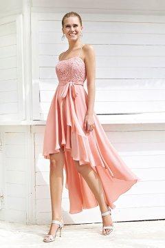 Vestido MISS SONIA PEÑA Asimétrico 1203020A