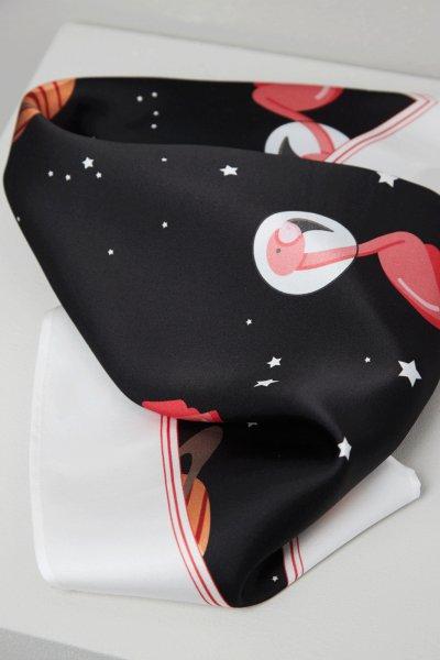 Pañuelo SPACE FLAMINGO Negro Espacio SF_E022