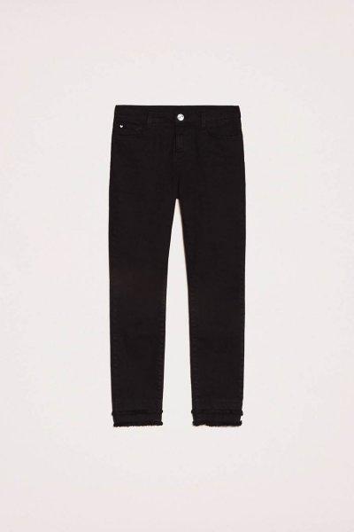 Pantalón TWINSET Con Flecos En La Parte Inferior 201MP2301