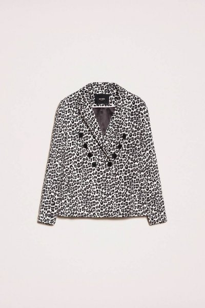 Chaqueta TWINSET Blazer Con Animal Print 201MP2451