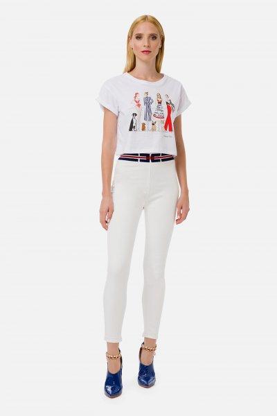Camiseta ELISABETTA FRANCHI Estampado MA15C01E2
