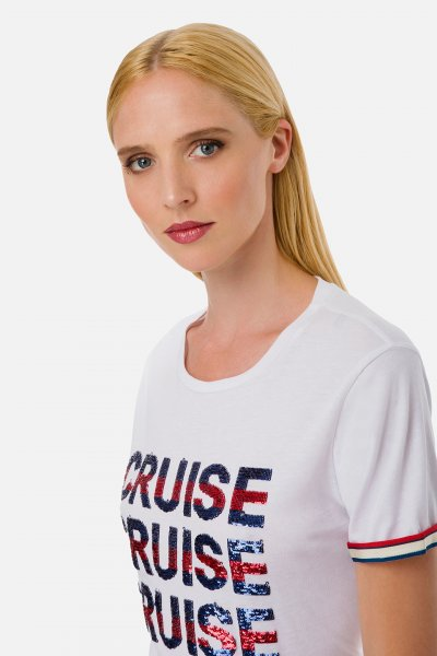 Camiseta ELISABETTA FRANCHI Crucero MA16801E2