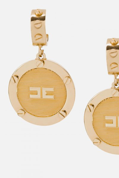 Pendientes ELISABETTA FRANCHI Con Medallón OR3MC01E2