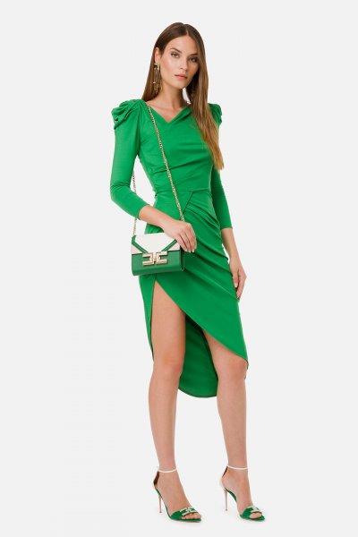 Vestido ELISABETTA FRANCHI Drapeados AB17401E2