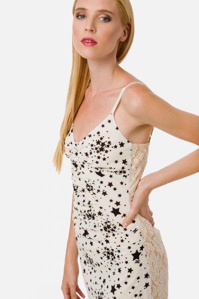 Vestido ELISABETTA FRANCHI Microestrellas AB14901E2