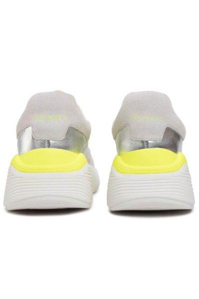 Zapatillas TWINSET Running Con Detalles Flúor 201TCP150