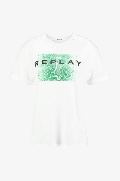 Camiseta REPLAY Estampado Maxi Snake W3232 22748