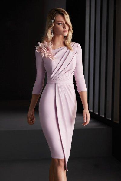 Vestido MANU GARCIA Corto Rosa MG3120