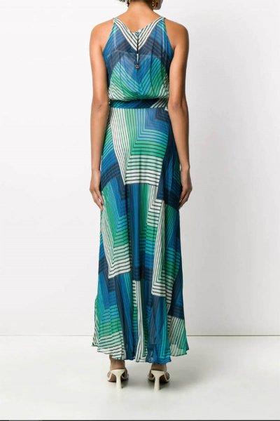 Vestido TWINSET Estampado Geométrico 201TP2563
