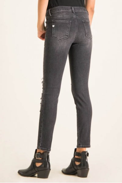 Jeans TWINSET Skinny Fit Parches 201MP2311