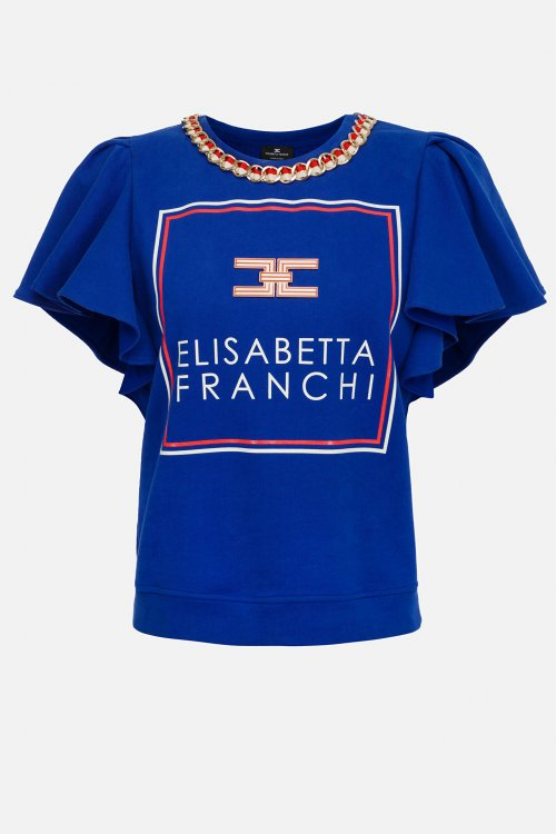 Jersey ELISABETTA FRANCHI Volantes MD02601E2