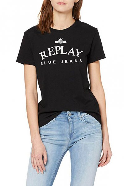 Camiseta REPLAY Estampado Replay Blue Jeans W3310 20994