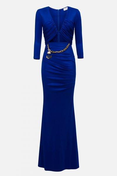 Vestido ELISABETTA FRANCHI Largo Cut Out AB22701E2